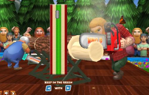 Lumberjack Games 01