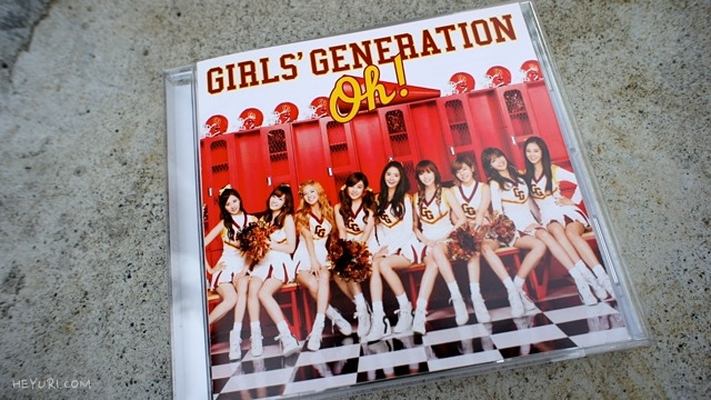 소녀시대 Oh! 통상반 앞면