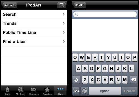 아이팟터치 아이폰 트위터 앱 Tweet Time