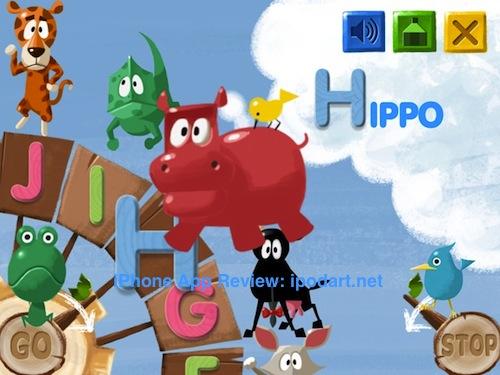 아이폰 아이패드 어린이 교육 영어 알파벳 동물이름 ABC Whiz