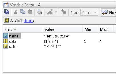 how to read data from workspace in matlab