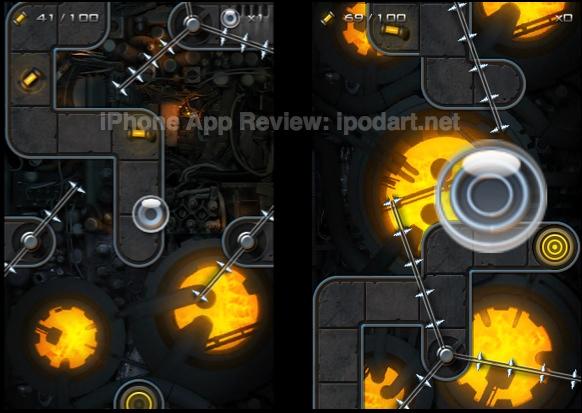 아이폰 액션 퍼즐 Dark Nebula