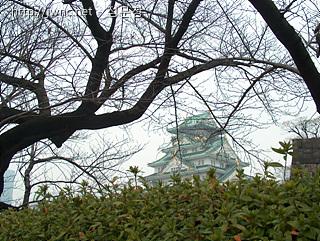 오사카성과 주변 공원