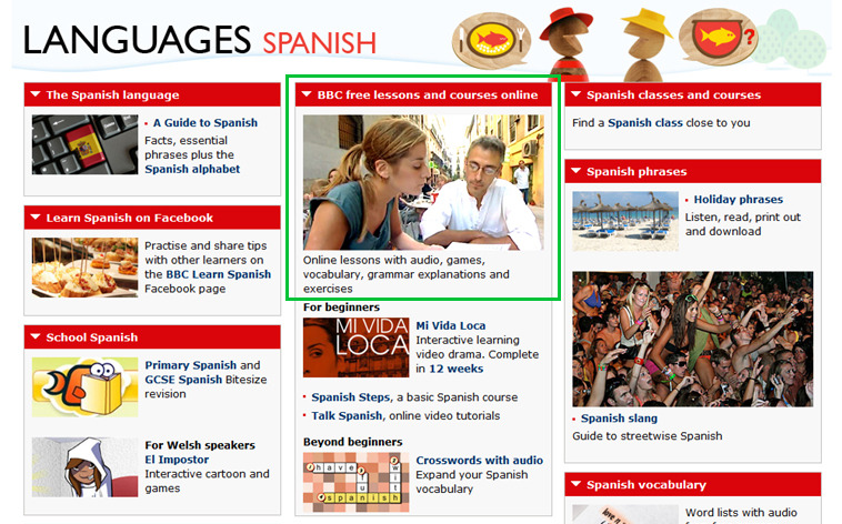 BBC LEARN SPANISH
