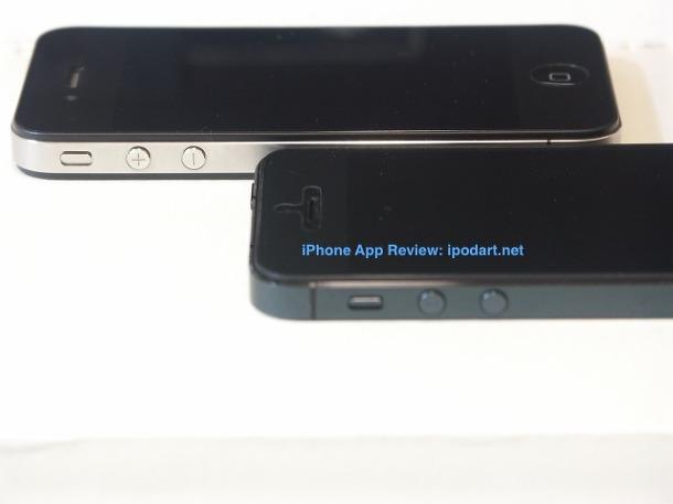 아이폰5 아이폰4 비교