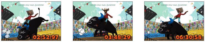 아이팟터치 아이폰 로데오 iRodeo - Crazy Bull Riding
