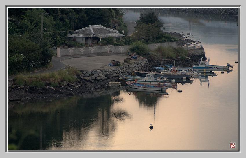[Fuji s5pro] 아침이 고요한 갯마을