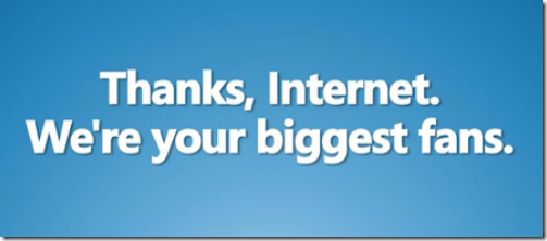 ThanksInternet