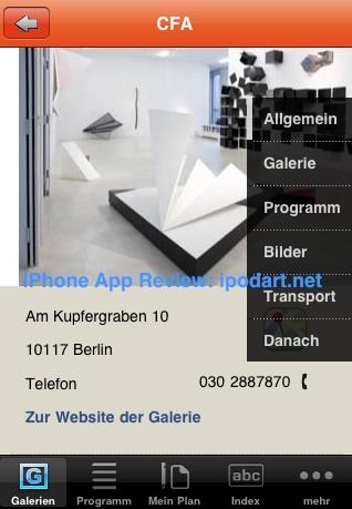 아이폰 베를린 갤러리 구경 Galerienführer Berlin