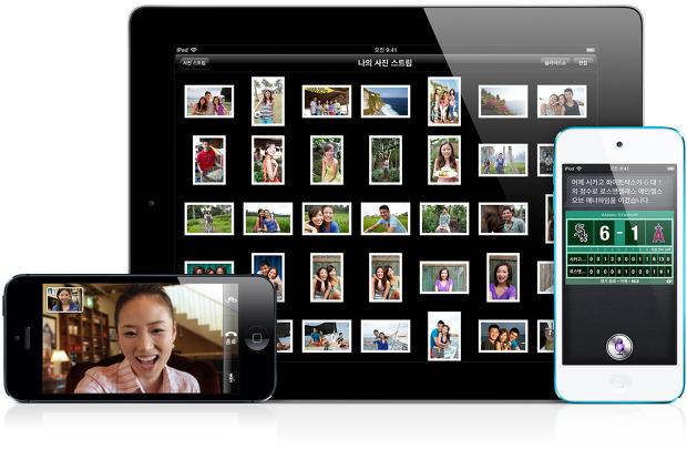 iOS 6 서로를 위한 완벽한 하드웨어와 소프트웨어