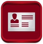 아이패드 앱 명함 만들기 iCard Maker