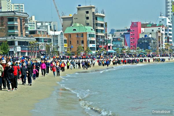 광안리해변 걷기