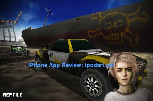 아이폰 레이싱 게임 Uber Racer 3D Sandstorm