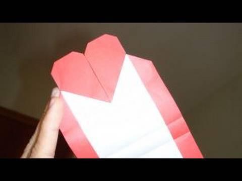 하트 편지지 (Tadashi Mori) 종이접기 동영상