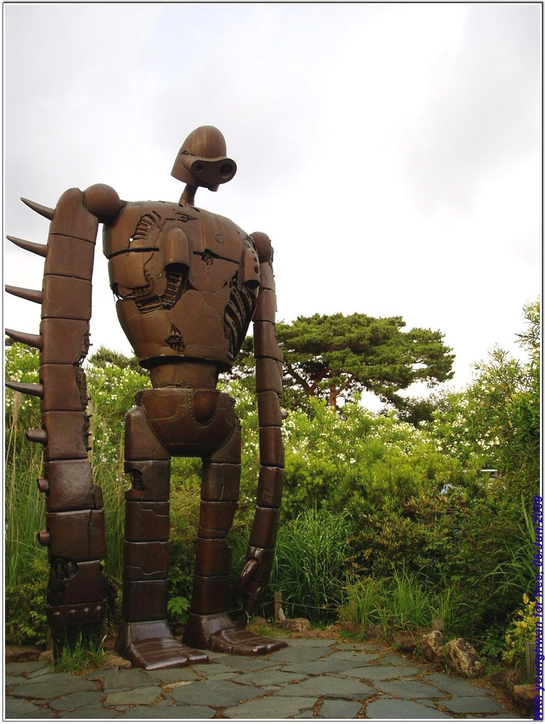 일본 미카타현 미야자키 하야오 감독의 지브리 박물관,