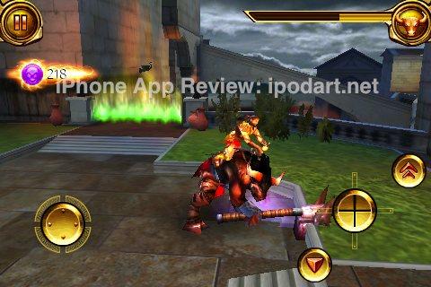 아이폰 아이팟터치 게임 Hero of Sparta2