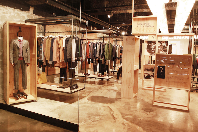 customellow 2012 F/W Collection Presentation In H Store