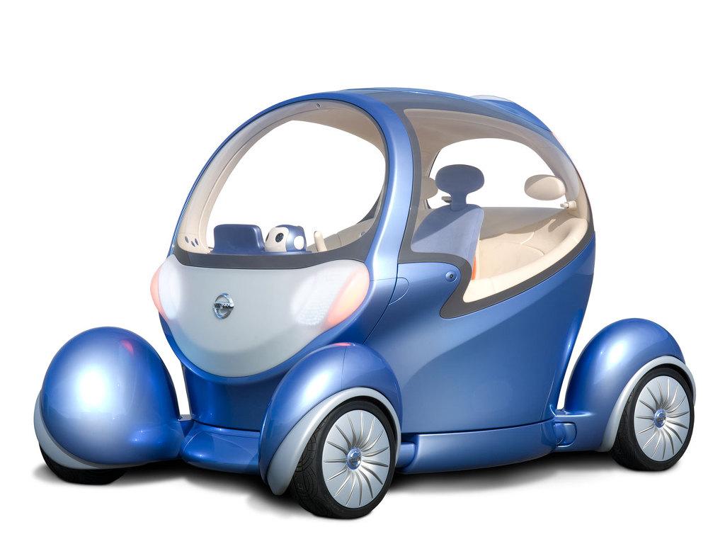 닛산 피보2 (Nissan Pivo2) 전면부