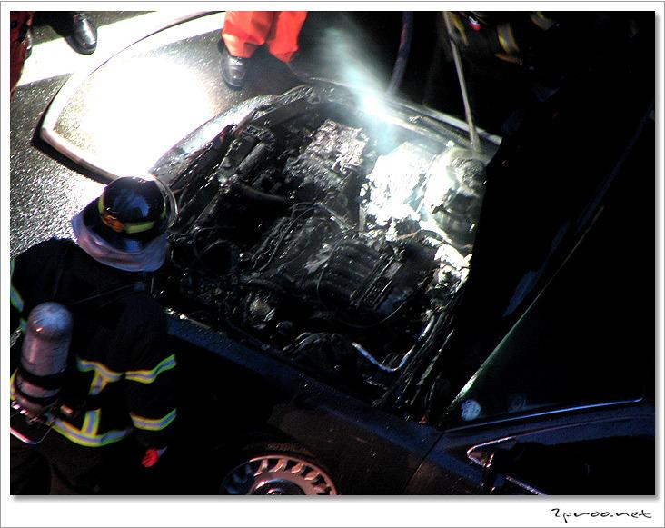 대전 갈마동 자동차화재 현장 (사진)