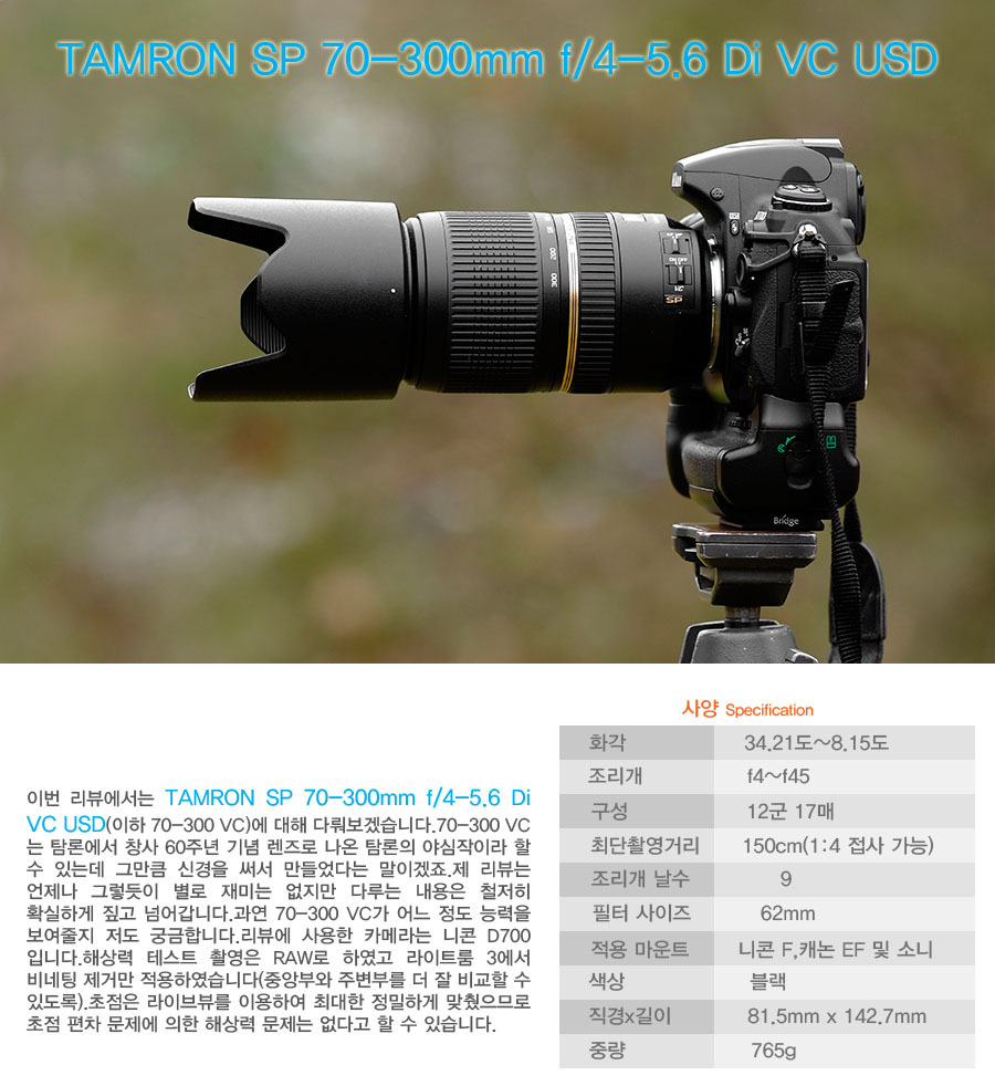Gear For Image Tamron Sp 70 300mm F4 56 Di Vc Usd Review Nikon Lens My 20120805 1214 Corporation D700 Aperture Priority Pattern