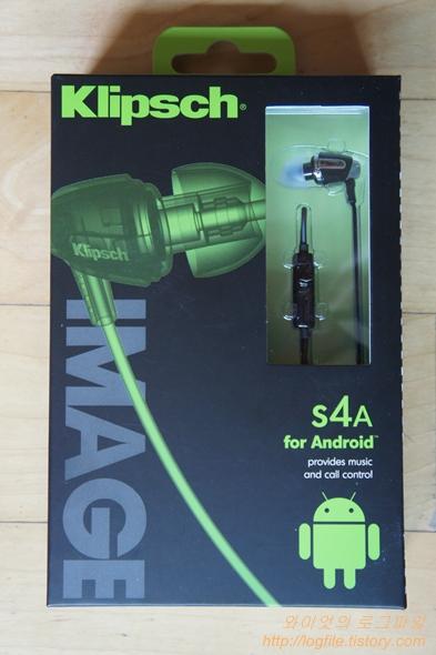 클립쉬 Image S4A 이어폰