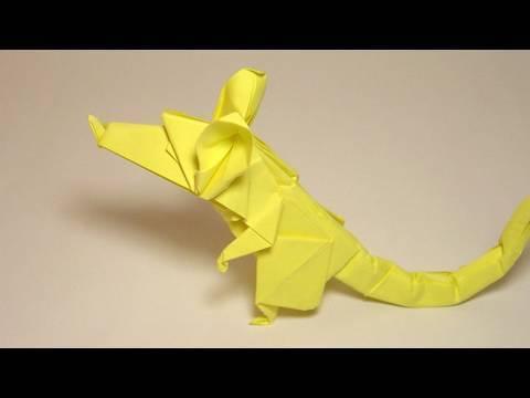 쥐(Eric Joisel) 동물 종이접기 동영상
