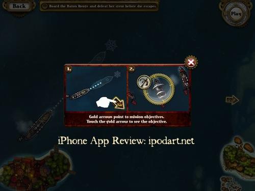 아이패드 전략 액션 게임 Crimson Steam Pirates