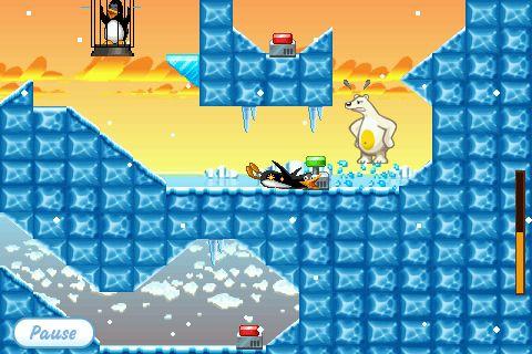 아이팟터치 아이폰 크레이지 펭귄 Crazy Penguin Catapult