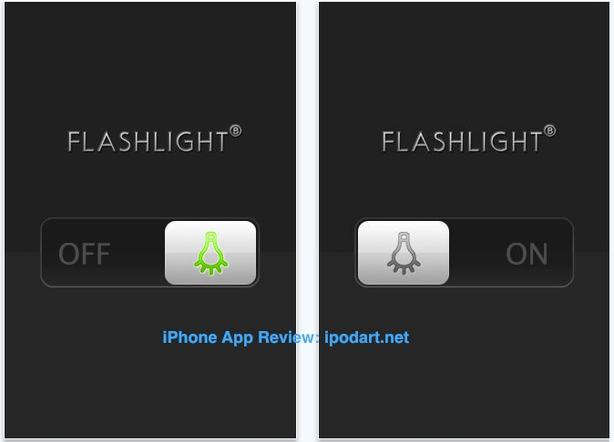 아이폰4 LED Light iPhone4 LED Flashlight