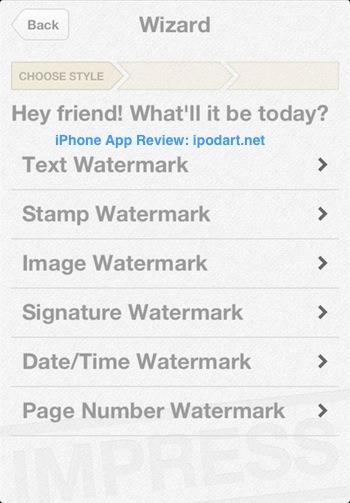Impress Free - PDF Watermarker PDF에 싸인 이미지 도장 날짜