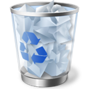 Recycle Bin icon (c) Microsoft