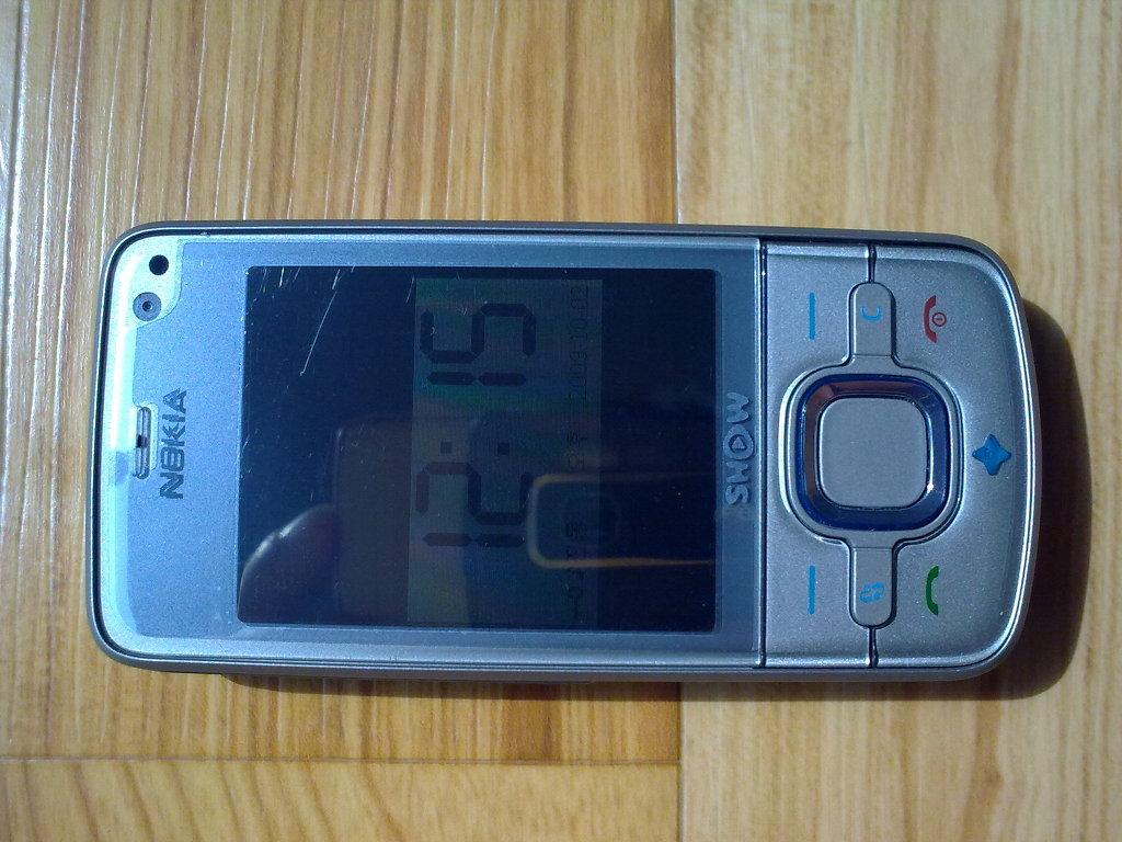Nokia 6210s 회색 색상 - 정면 by Ara