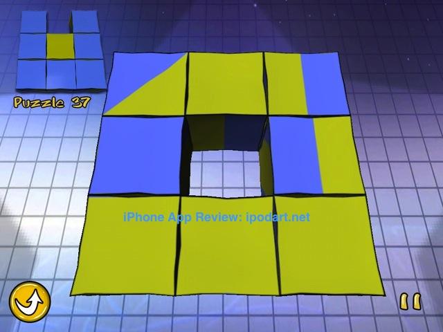 아이폰 아이패드 퍼즐 매직큐브 FLUP HD