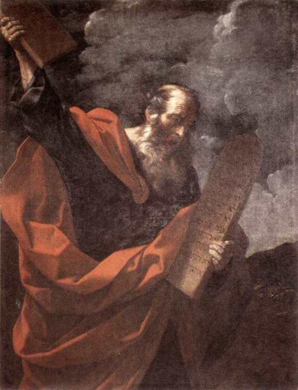 RENI, Guido, Moses,1600-10, Oil on canvas, Galleria Borghese, Rome