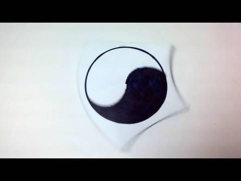 납작한 종이 바람개비 팽이 종이접기(Yami Yamauchi) 동영상