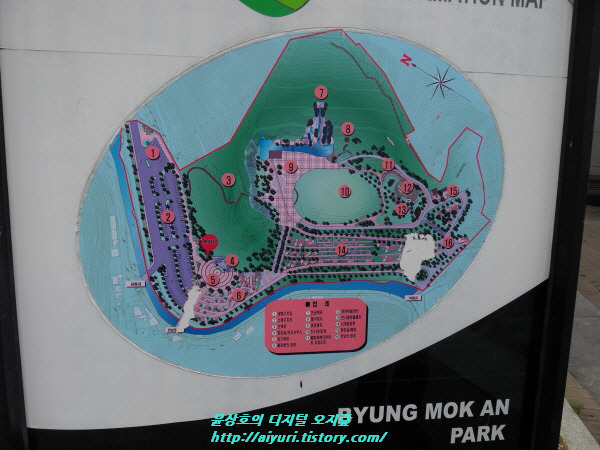 BYUNG MOK AN PARK  INFORMATION MAP