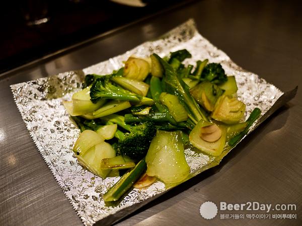 고소한 맛이 좋았던 야채 깨소금 볶음