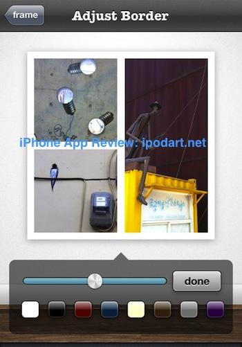 아이폰 사진 여러장 붙이기 편집 Frametastic