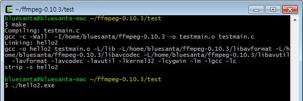 파란크리스마스 :: ffmpeg - rtsp sample 테스트