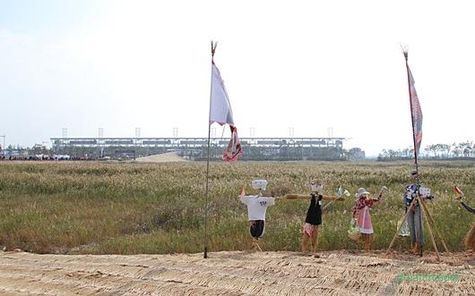 F1 코리아 GP 2010, 서킷 (KIC,영암), 허수아비