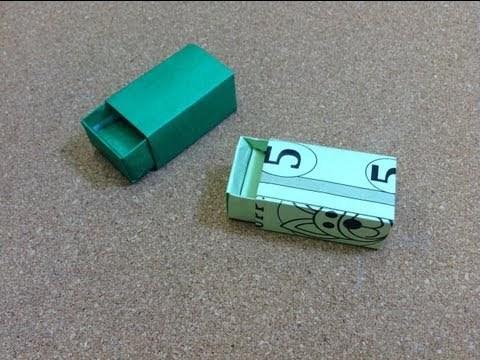 성냥상자 (Clay Randall) 종이박스 접기 동영상