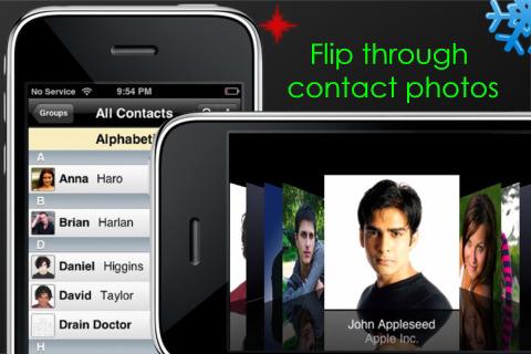 아이폰 주소록 Fast Contacts