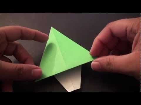 간단 트리 (David Petty) 크리스마스 종이접기 동영상