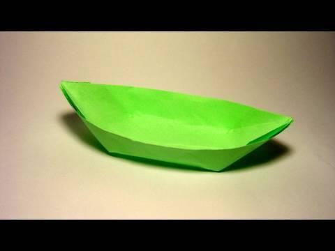 카누 배 종이접기 동영상