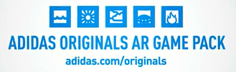 AR Tags for Adidas Originals Augmented Reality Shoes