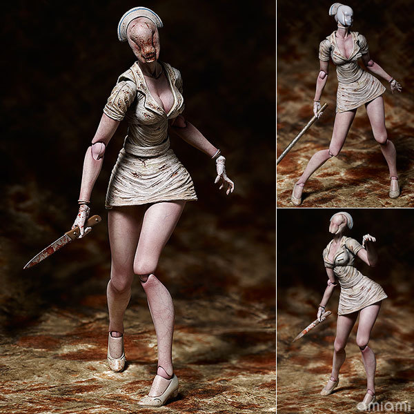 Silent Hill Bubble head Nurse Figure