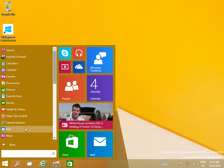 CCAMI, enterprise, ISO, IT, Microsoft, MS, MS 계정, OneDrive, Technical Preview, vm, Windows, WINDOWS 10, windows 설치, 가상머신, 계정, 리뷰, 시작버튼, 엔터프라이즈, 원드라이브, 윈도우, 윈도우 10, 윈도우 10 시작메뉴, 윈도우 설치, 윈도우 설치 방법, 테크니컬 프리뷰 버전, 피드백