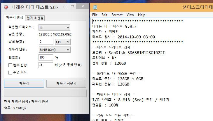 샌디스크 SSD X110 128GB 벤치마크,샌디스크,SSD,X110,128GB, 벤치마크,샌디스크,Sandisk,샌디스크 SSD X110,IT,제품,리뷰,후기,사용기,X110,Extreme Edition,샌디스크 SSD X110 128GB 벤치마크 테스트를 해 봤습니다. 128GB를 테스트 해 봤는데요. 저는 개인적으로는 256GB를 더 권합니다. SSD 가격이 많이 저렴해졌기 때문이죠. 수명이나 성능 부분에서도 낸드플래시의 갯수가 많은 용량이 큰 SSD가 유리합니다. 샌디스크 SSD X110 128GB 벤치마크를 보니 그것이 더 확실하긴 하네요. 물론 128GB도 일반인이 사용하기에는 성능이 매우 충분합니다. 샌디스크는 제가 USB메모리와 CF메모리 , SD메모리를 쓰고 있는데요. 샌디스크는 속도보다는 안정성에 훨씬 더 사용자들 머리에 각인이 되어있습니다. 좀 느려도 안정성은 정말 좋다는 그런 생각이 예전부터 있었는데요. 물론 샌디스크 SSD X110 128GB 가 성능이 느리다는 말은 아닙니다. 샌디스크도 제품별로 프리미엄 제품들이 있는데요. 그런 제품들은 안정성은 물론 성능이 상당히 좋습니다. 근데 SSD에 있어서는 안정성이 가장 먼저이긴 합니다. 왜냐면 데이터가 저장되기 때문이죠. 애써 운영체제 설치 후 프로그램을 설치해뒀는데 갑자기 인식이 안된다거나 문제가 생겨서 데이터가 지워진다면, 아주 큰일이니까요.  샌디스크 SSD X110는 마벨 88SS9175 칩셋을 사용했고 MLC 타입의 낸드플래시를 사용한 제품 입니다. 익스트림 Pro 제품이 가장 상위 기종이며, X300s가 중간모델인데 그 바로 아래모델이 X110 입니다. 가격은 저렴하면서도 성능은 꽤 나오는 제품이죠. A/S는 5년을 지원 합니다. 참고로 이 제품은 유프라자에서 유통하는 제품 입니다.