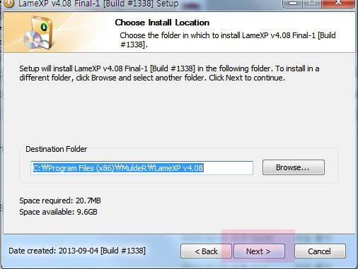 mp3 용량 줄이기 프로그램 Lame XP 한글판 다운 및 사용방법
