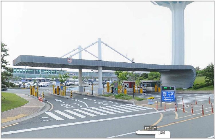 김해공항 주차장의 1일 주차요금 할인방법과 출입구 위치2